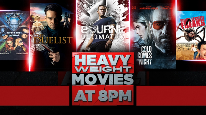 Heavy Weights on eMovies Extra